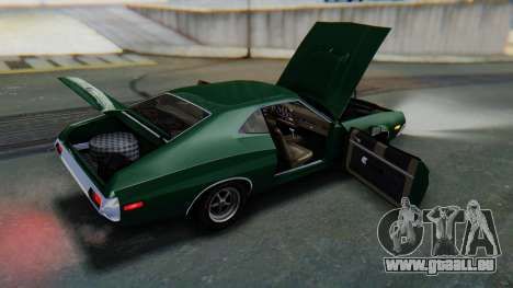 Ford Gran Torino Sport SportsRoof (63R) 1972 IVF pour GTA San Andreas vue de dessus