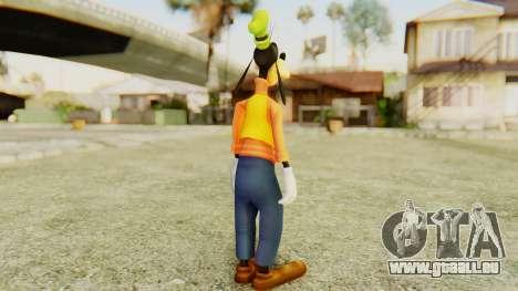 Kingdom Hearts 2 Goofy für GTA San Andreas dritten Screenshot
