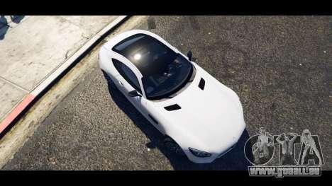 GTA 5 Mercedes-Benz AMG GT 2016 vue arrière