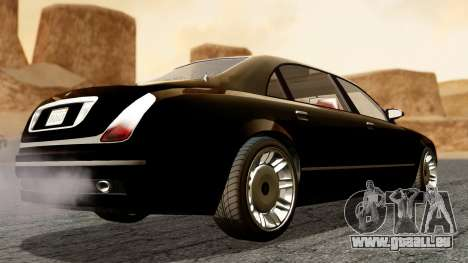 GTA 5 Enus Cognoscenti L für GTA San Andreas linke Ansicht