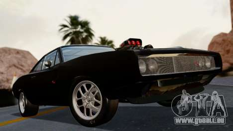 Dodge Charger from FnF4 für GTA San Andreas