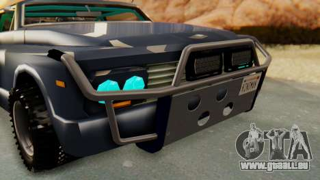 Slamvan v2.0 für GTA San Andreas Rückansicht
