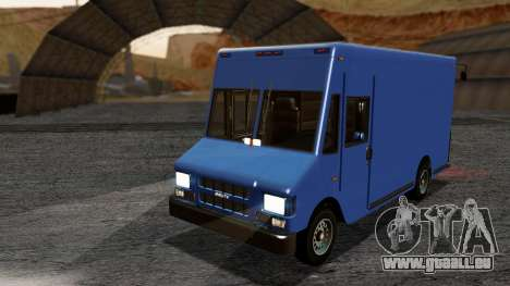 Boxville from GTA 5 without Dirt pour GTA San Andreas