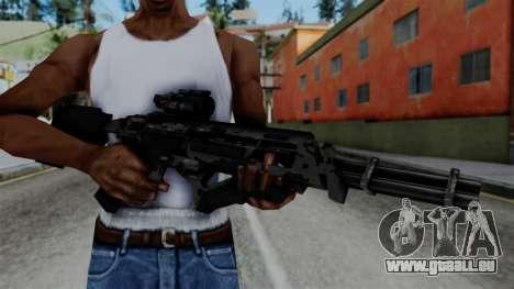 CoD Black Ops 2 - Storm PSR für GTA San Andreas dritten Screenshot