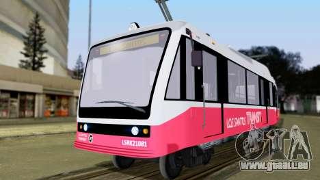 GTA 5 Metrotrain für GTA San Andreas
