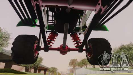 Mudmonster pour GTA San Andreas vue intérieure