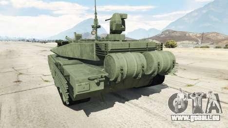 GTA 5 T-90MS vue arrière
