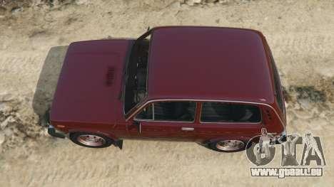 GTA 5 VAZ-2121 vue arrière