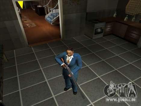 Eine Reihe von Russischen Waffen für GTA San Andreas elften Screenshot