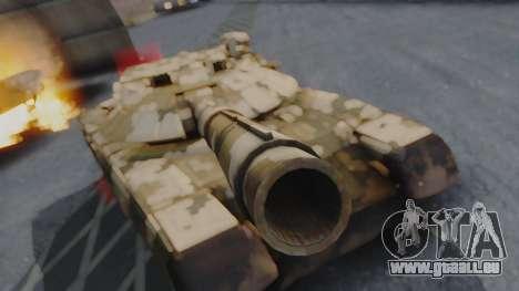 T-100 Varsuk pour GTA San Andreas vue de droite