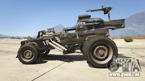 GTA 5 Mad Max The Gigahorse linke Seitenansicht