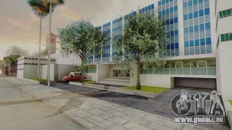 Hospital LS pour GTA San Andreas deuxième écran