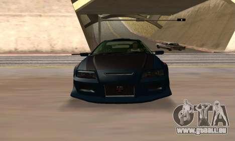 Nissan Skyline R34 Sunray (FlatOut 2) pour GTA San Andreas vue de droite