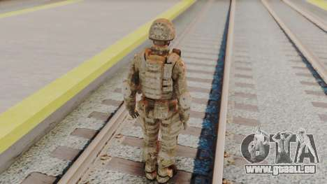 US Army Multicam Soldier from Alpha Protocol für GTA San Andreas dritten Screenshot