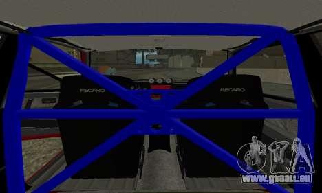 VAZ 2108 für GTA San Andreas zurück linke Ansicht