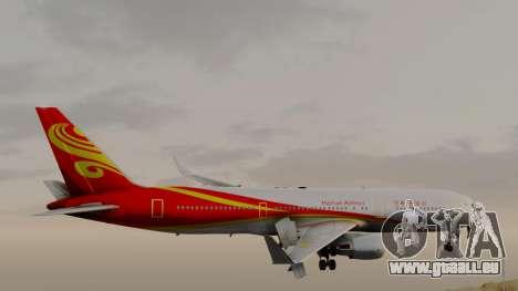 Boeing 767-300ER Hainan Airlines pour GTA San Andreas sur la vue arrière gauche