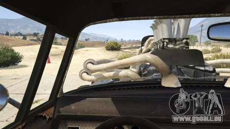 Mad Max The Gigahorse pour GTA 5
