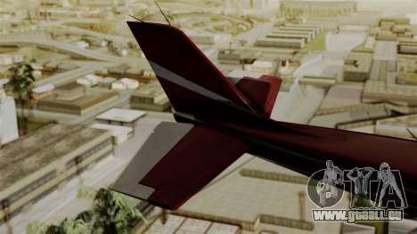 GTA 5 Jobuilt Mammatus pour GTA San Andreas sur la vue arrière gauche