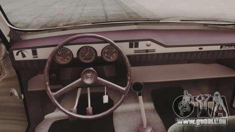 Dacia 1310 1979 pour GTA San Andreas vue arrière