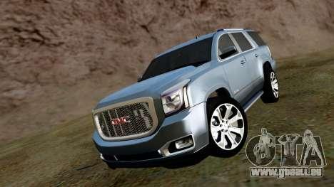 GMC Yukon Denali 2015 für GTA San Andreas