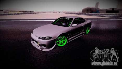 Nissan Silvia S15 Drift Monster Energy pour GTA San Andreas vue intérieure