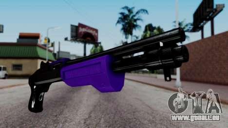 Purple Spas-12 pour GTA San Andreas