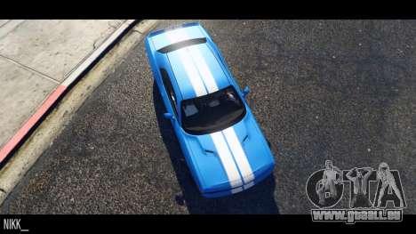 GTA 5 Dodge Challenger 2015 linke Seitenansicht