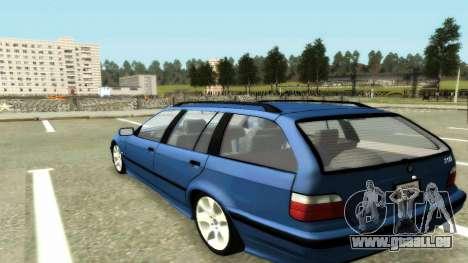 BMW 318i Wagon Touring Wagon pour GTA San Andreas laissé vue