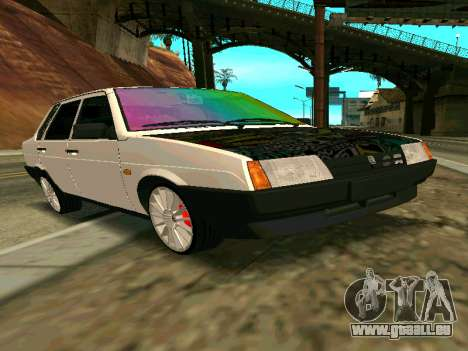 VAZ 21099 Gvr pour GTA San Andreas