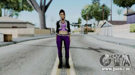 Shaundi from Saints Row pour GTA San Andreas deuxième écran