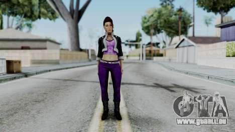 Shaundi from Saints Row für GTA San Andreas zweiten Screenshot