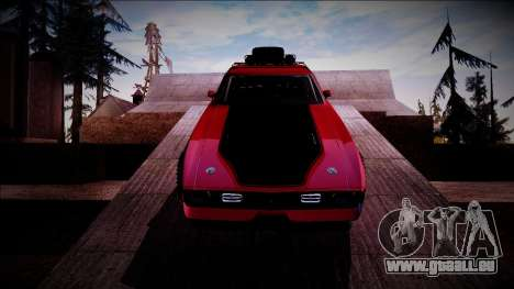 1971 Ford Mustang Rusty Rebel pour GTA San Andreas vue intérieure