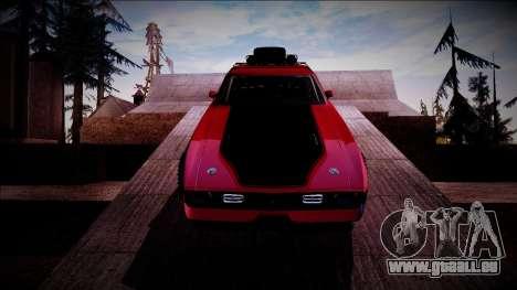 1971 Ford Mustang Rusty Rebel für GTA San Andreas Innenansicht
