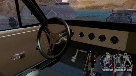 Dodge Charger from FnF4 für GTA San Andreas rechten Ansicht