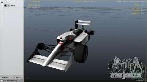 GTA 5 McLaren MP 44 droite vue latérale