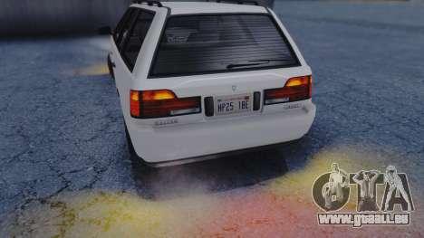 GTA 5 Vulcar Ingot IVF für GTA San Andreas Seitenansicht