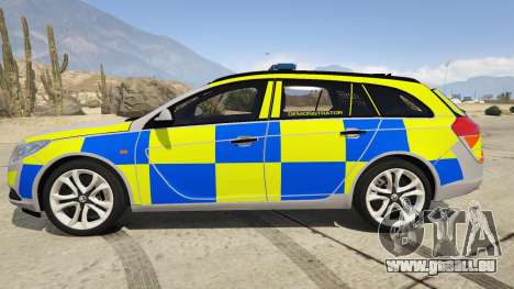 Police Vauxhall Insignia Estate pour GTA 5