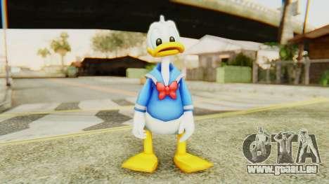 Kingdom Hearts 2 Donald Duck v2 pour GTA San Andreas deuxième écran
