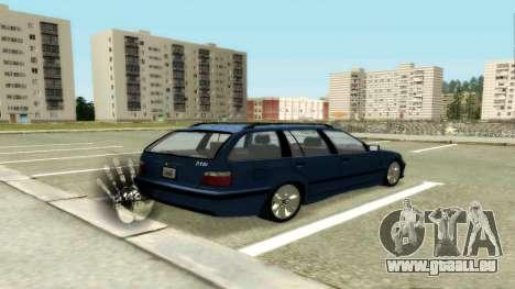 BMW 318i Wagon Touring Wagon für GTA San Andreas rechten Ansicht