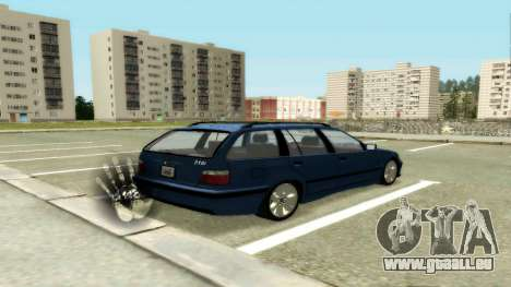 BMW 318i Wagon Touring Wagon pour GTA San Andreas vue de droite