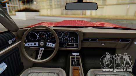 Ford Gran Torino Sport SportsRoof (63R) 1972 PJ1 pour GTA San Andreas vue de droite