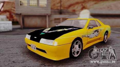 Elegy F&F Supra PJ für GTA San Andreas