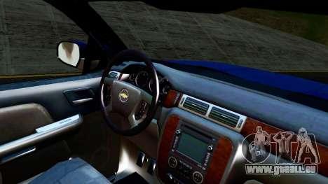 Chevrolet Cheyenne 2012 Dually pour GTA San Andreas vue de droite