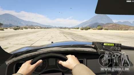 GTA 5 2012 Unmarked Dodge Charger Rückansicht