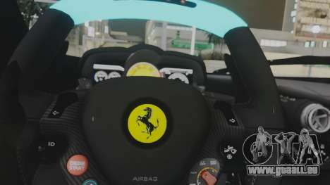 Ferrari LaFerrari TRON Edition v1.0 pour GTA San Andreas vue de côté