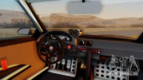 GTA 5 Karin Sultan RS Carbon IVF pour GTA San Andreas vue arrière