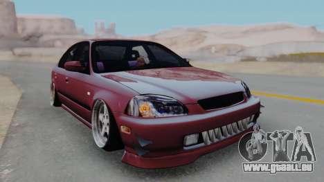 Honda Civic 1.6 pour GTA San Andreas