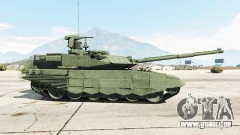 GTA 5 T-90MS arrière vue latérale gauche