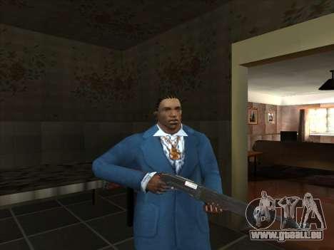 Eine Reihe von Russischen Waffen für GTA San Andreas siebten Screenshot