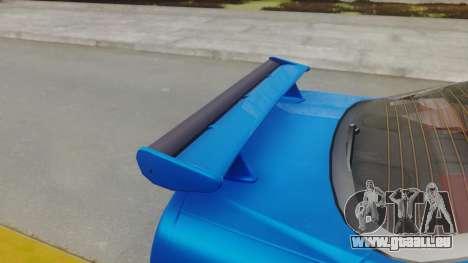Nissan Skyline GT-R 2005 Z-Tune pour GTA San Andreas vue arrière